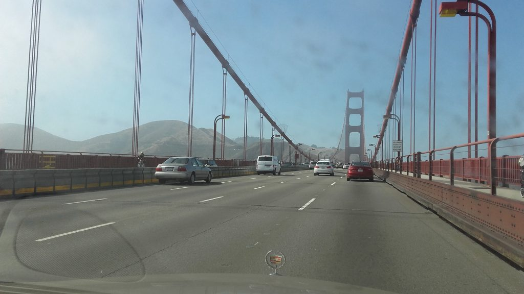 Golden Gate car